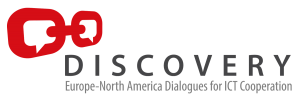 Discovery: Europe-North America Dialogues for ICT Cooperation Logo
